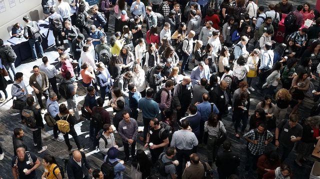 Angel Investors Crowd of People