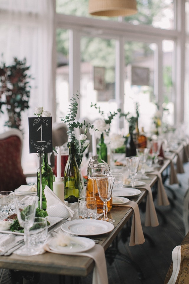 Business Development Table Set for a Party