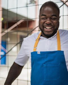 Chef Jean Jacques Kabuya of Salt N Sear Catering