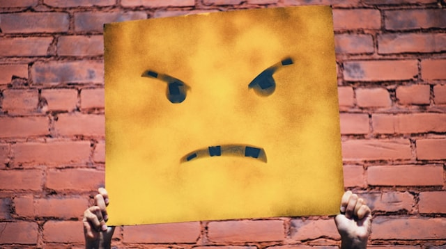 Customer Satisfaction Survey Angry Face