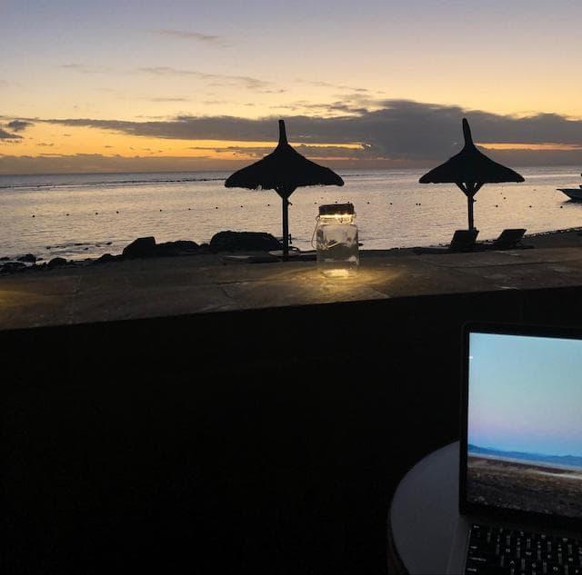 Digital Nomad Elle Campbell Mauritius