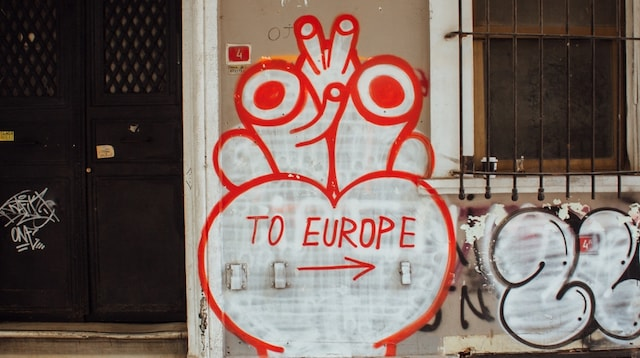 Finding Businesses for Sale to Europe Sign