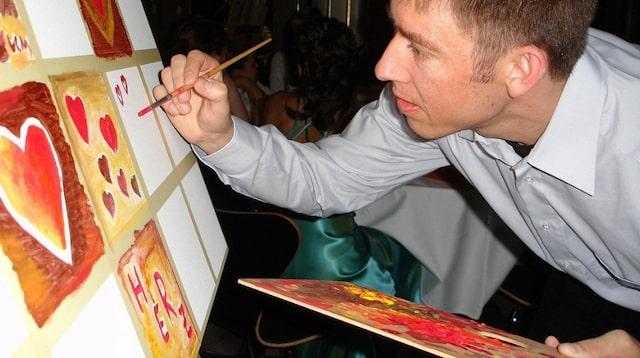 Fresh Start Man Painting