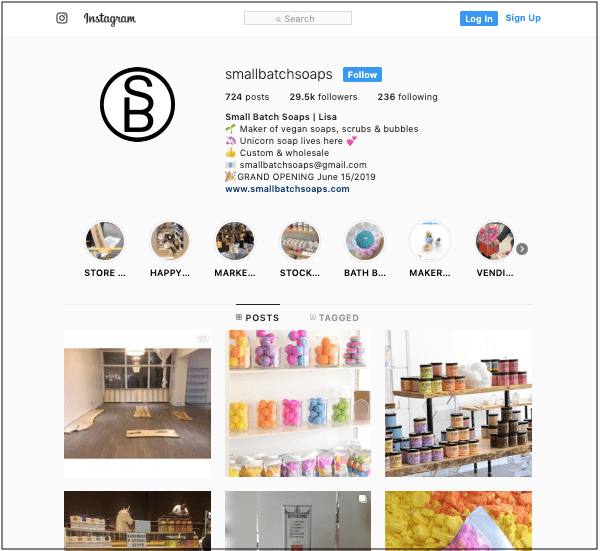 How to Manage a Business Instagram Small Batch Soaps