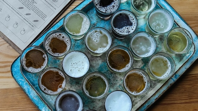 Lean Startup Tray of Ales
