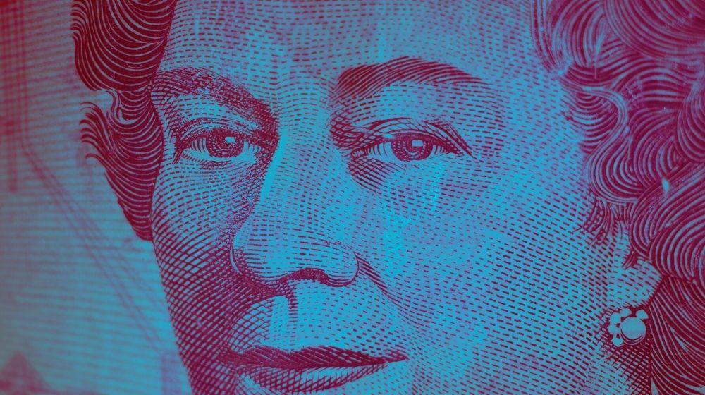 Trial Balance Closeup of Canadian Dollar