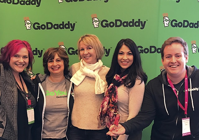 Mompreneur Conference 2017 GoDaddy Team