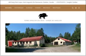 Ferme Sanglier Des Bois website