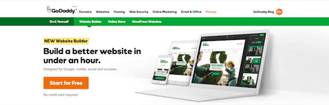 Build A Better Website GoDaddy Website Builder