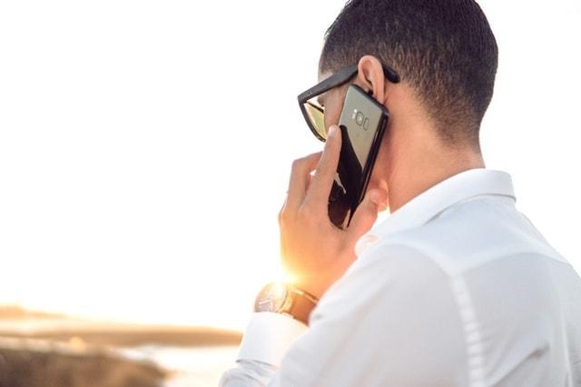 Business Proposal Man Talking on Phone