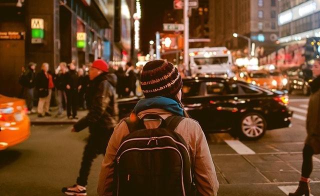 Business Strategy Woman Walking on Street