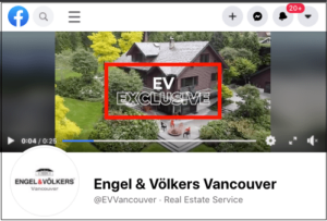 Engel and Volkers Vancouver Facebook page