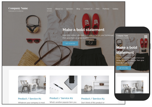Fashion Blogger Customizable WordPress Blog Template