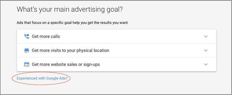 Google Keyword Tool Goal