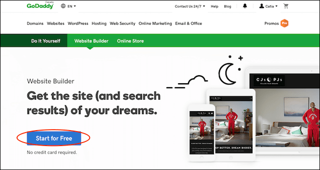 How to Make a Website GoDaddy Website Builder Get Started