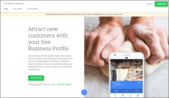 How to Make a Website Google My Business