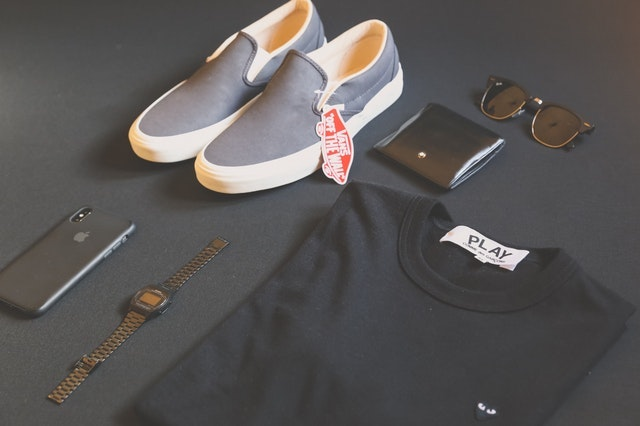 How to Write a Blog Mens Flatlay