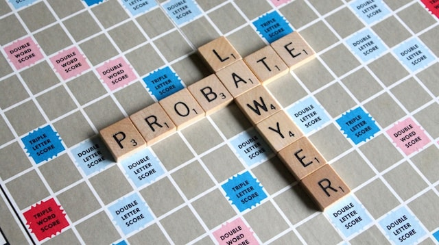 Keyword Probate Lawyer On Scrabble Board