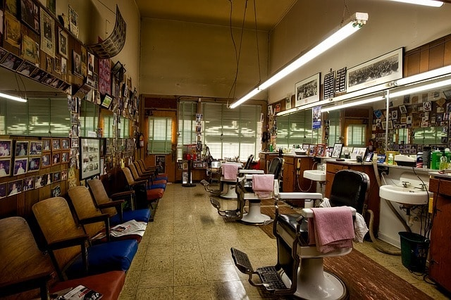 Sell a Business Empty Barbershop