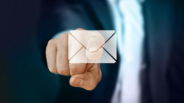 Set Up Email Address Envelope