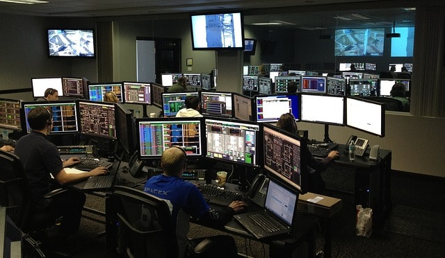 Starting Over Photo of SpaceX Control Room