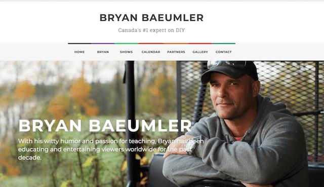 Starting Your Own Business Bryan Baeumler