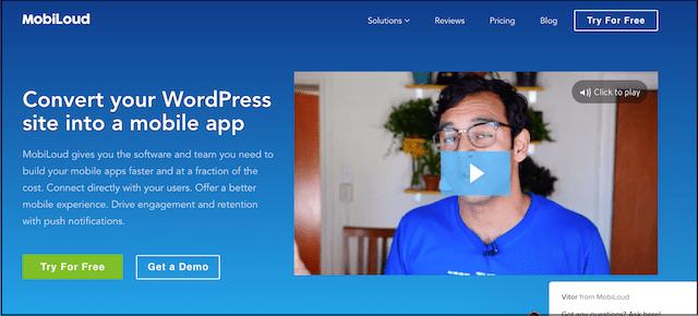 Website Conversion MobiLoud